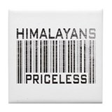 Himalayans Priceless Tile Coaster