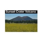 Sunset Crater Volcano NM Rectangle Magnet