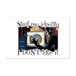 Identity Theft Mini Poster Print