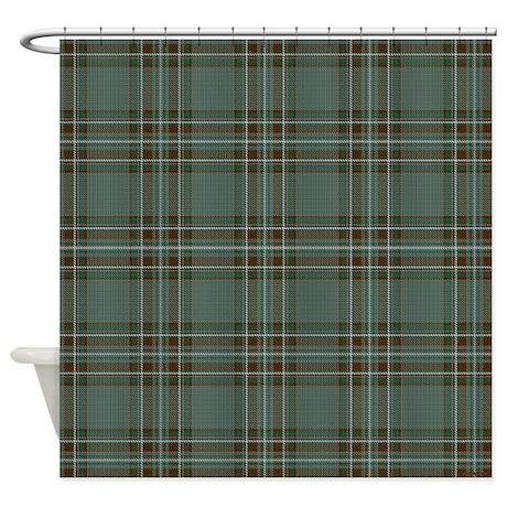 Kelly Tartan Celtic Shower Curtain By Rebeccakorpita