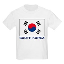 South Korea Flag Stuff Kids T-Shirt