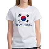 South Korea Flag Stuff Tee