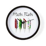 Master Baiter Wall Clock