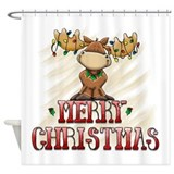 Merry Christmas Reindeer 2556x2592.png Shower Curt