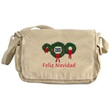 El Salvador Christmas 2 Messenger Bag