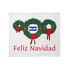 El Salvador Christmas 2 Throw Blanket