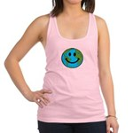 Smiling Earth Smiley Racerback Tank Top