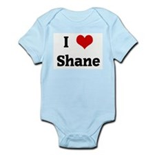 I Love Shane Infant Creeper