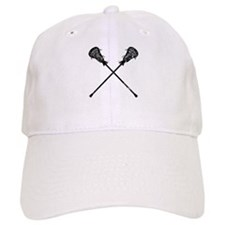 Distressed Lacrosse Sticks Baseball Cap