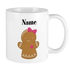 Personalized Gingerbread Girl Mug