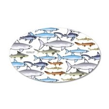 School of Sharks 1 Wall Decal