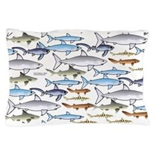 School of Sharks 1 Pillow Case