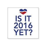 2016 heart Sticker