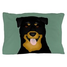 Rotty Pillow Case