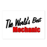 """The World's Best Mechanic"" Postcards (Package of"
