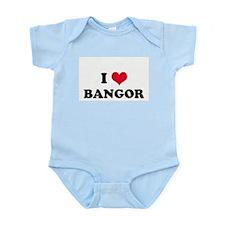 I HEART BANGOR  Infant Creeper