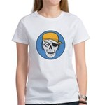Colored Pirate Skull Women's T-Shirt