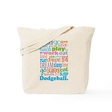 Dodgeball Tote Bag