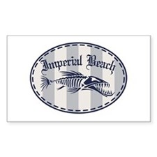 Imperial Beach Bonefish Decal
