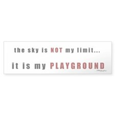 Not My Limit Bumper Bumper Sticker