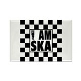 I am SKA Rectangle Magnet (100 pack)