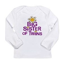 sister big twins Long Sleeve T-Shirt