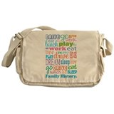 Family History Messenger Bag