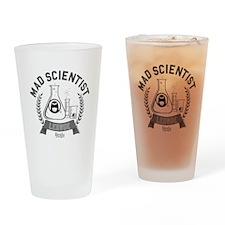 Mad Scientist Drinking Glass