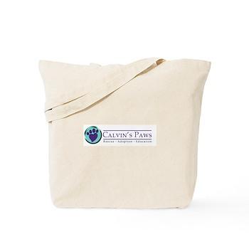 Calvin's Paws Tote Bag