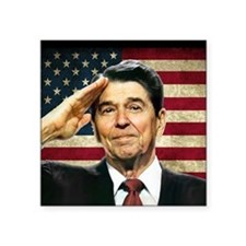Reagan Salute... Sticker