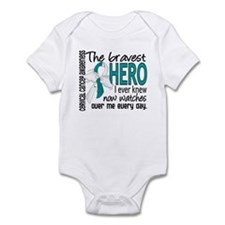 Bravest Hero I Knew Cervical Cancer Infant Bodysui