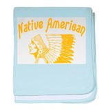 Native American baby blanket