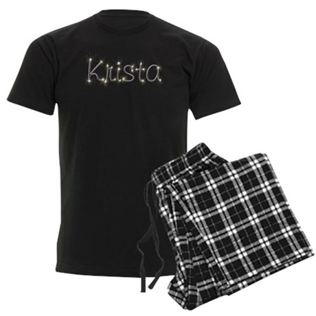 Krista Spark Men's Dark Pajamas