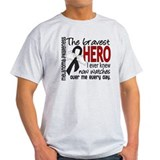 Bravest Hero I Knew Melanoma T-Shirt