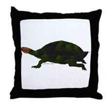 Giant Amazon River Turtle Throw Pillow