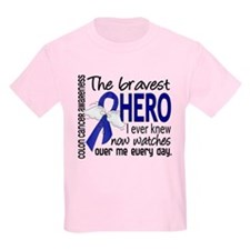 Bravest Hero I Knew Colon Cancer T-Shirt
