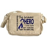 Bravest Hero I Knew Colon Cancer Messenger Bag