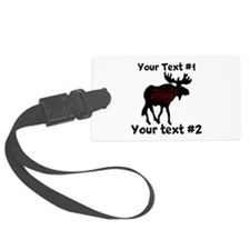 custommoose Luggage Tag