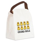 Unique Duckie Canvas Lunch Bag