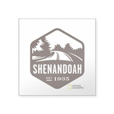 "Shenandoah Square Sticker 3"" x 3"""