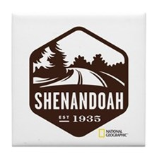 Shenandoah Tile Coaster