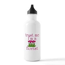 Trust Me I'm a Florist Sports Water Bottle