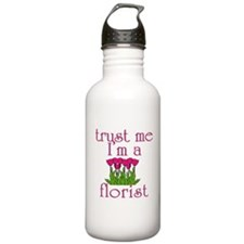 Trust Me I'm a Florist Water Bottle