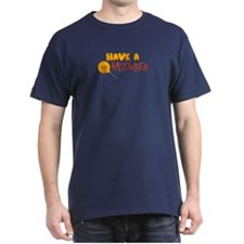 Have a Sweet Halloween Black T-Shirt