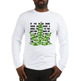 Weed Poem Long Sleeve T-Shirt