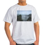 Oregon Coast Ash Grey T-Shirt