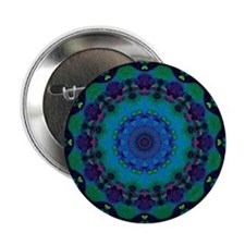 "Mellow Art Mandala 2.25"" Button (10 pack)"