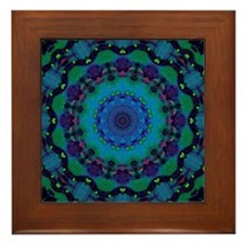 Mellow Art Mandala Framed Tile
