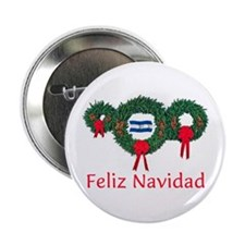 "Honduras Christmas 2 2.25"" Button"