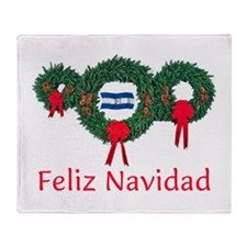Honduras Christmas 2 Throw Blanket